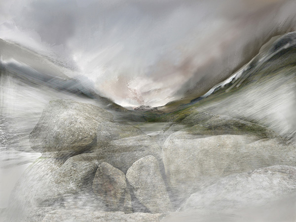 River stones Wasdale