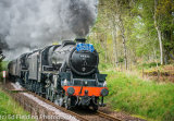 EF5159 The Cathedrals Explorer near Dunkeld 10th May 2014