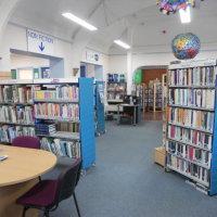 Main library area