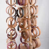 A selection of Wooden Bangles
