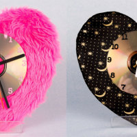 A selection of the clocks made by Jan.