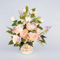 silk Flowers in a vase