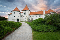 Castle of the Old Town Varazdin, Croatia