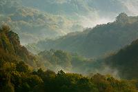 Samobor Hills in the fog, Croatia