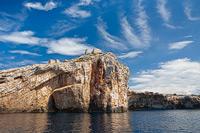 Mana island in the National Park Kornati