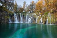 Pevalek's waterfall, National Park Plitvice Lakes, Croatia