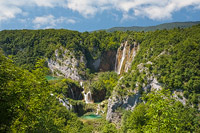Summer of the Great Waterfall, National Park Plitvice Lakes, Croatia