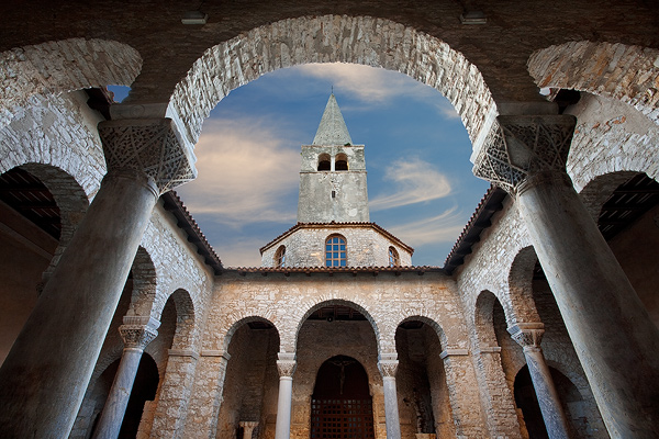 Euphrasius Basilica church in Porec