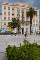 Main promenade in town Split, Dalmatia, Croatia