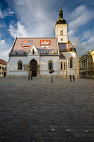 St Marc's church in Zagreb, Croatia