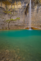 100 years of friendship, waterfall Sopot, Istria, Croatia