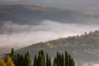 Mirna river fog, Istria, Croatia