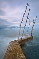 Pier in Basania bay