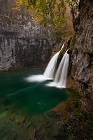 First fall of Korana river, National Park Plitvice Lakes, Croatia