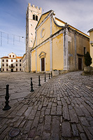 St.Stephen's church in Motovun, Istria, Croatia