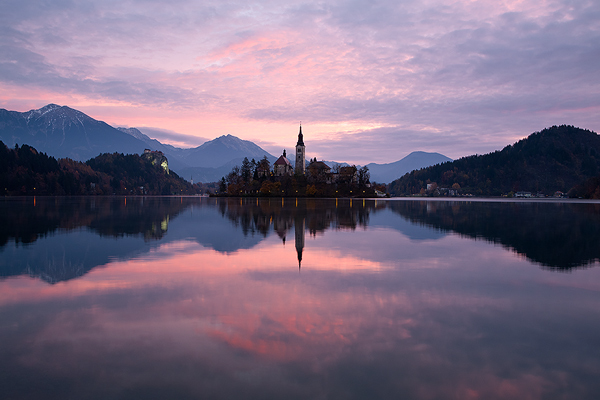 Mirroring dawn