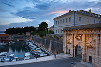 Porta terraferma Entrance in Zadar, Dalmatia, Croatia