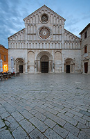 The Cathedral of St. Anastasia in Zadar, Dalmatia, Croatia