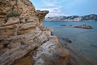 Sandstones near Lopar