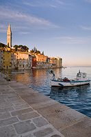Rovinj by dawn, Istria, Croatia