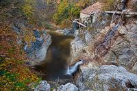 Kotli cascades in autumn, Istria, Croatia
