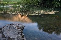 The rock on Krka river
