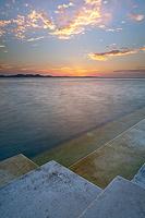 Sea Organ instalation in town Zadar