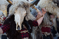 Grobnicki dondolasi -famous Bellringers from town Rijeka during bellringers festival in place Matulji, Kvarner, Croatia