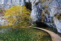 "Cave ""Hollow"", National Park Plitvice Lakes, Croatia"