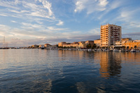 Port Jazine in the city Zadar, Dalmatia, Croatia
