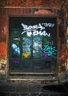 Graffiti door
