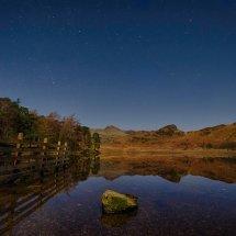 Blea Tarn at night