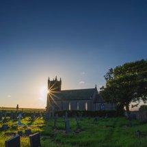 Church sunburst