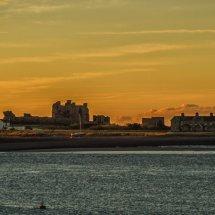 Piel Castle dawn