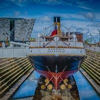 SS Nomadic At Titanic Museum Belfast