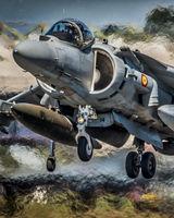 Harrier Hover