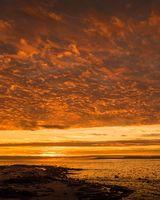 Arran Sky at Sunset