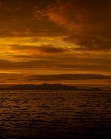 Arran Sunset Panorama