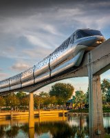 Monorail, Golden Hour