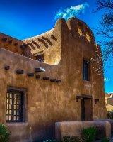Old Adobe Building, Santa Fe, New Mexico