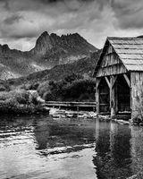 Old Boathouse, Dove Lake, Tasmania