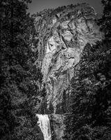 Vernal Falls Below Liberty Cap