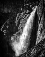Thundering Upper Yosemite Falls