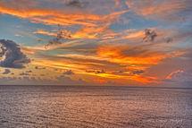 Sunset Sea & Clouds