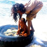 Bath Time - East Timor