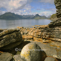 Cuillin Ridge from Elgol, Isle of Skye