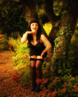 Betty Page set at The Calf House