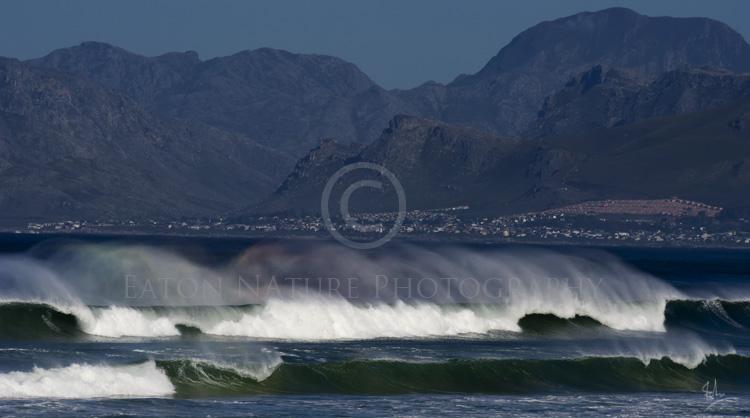 An offshore breeze