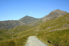 Mount Snowdon, from the miners track