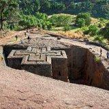Ethiopia, rock hewn church